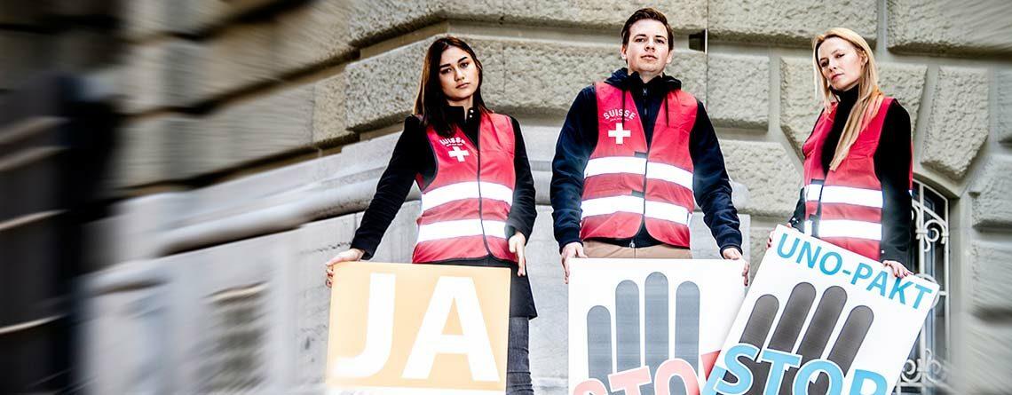 «gilet rossi» per la nostra Svizzera